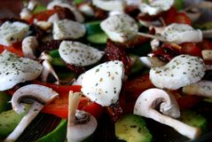 Fin française de salade Photo libre de droits