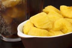 Fin frite de manioc photo libre de droits