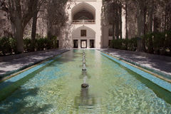 Fin garden - Kashan. Fin garden in Kashan - Iran. A lot of fountains royalty free stock photos