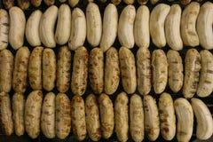 Fin grillée de banane  Photos stock