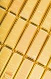 Fin guld 999,9. Arkivbild