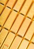 Fin guld 999,9 Arkivbilder