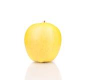 Fin jaune de pomme  Photographie stock