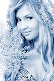 fin kvinna Fotografering för Bildbyråer
