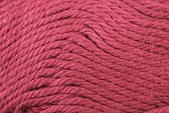 Fin magenta de texture de fil  Image stock