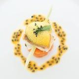 fin mat Fotografering för Bildbyråer