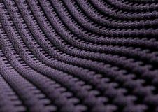 Fin microscopique de tissu ou de fibres avec la profondeur du champ Images libres de droits