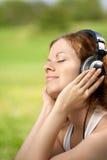 fin musik Royaltyfri Fotografi