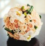 Fin nuptiale de bouquet  Image libre de droits