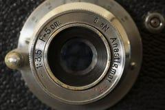 Fin photographique d'objectif de caméra  Photo stock