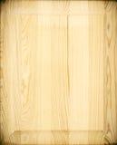 Fin polerad wood bakgrund Arkivfoto