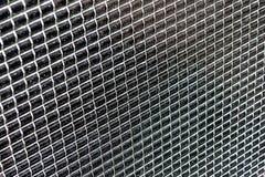 Fin poussiéreuse en verre foncé de batteries solaires  Image stock