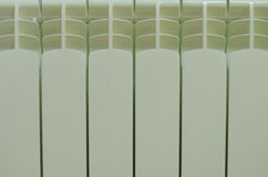 Fin radiators background Royalty Free Stock Photography