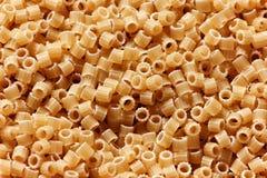 Fin ronde italienne de pâtes  Image libre de droits