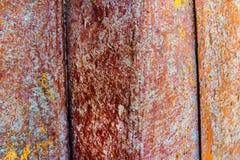 Fin rouillée d'acier vers le haut de texture Photo stock