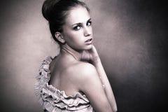 fin skönhet Fotografering för Bildbyråer