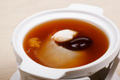 Shark fin foods. Fin soup shark background chinese food Stock Photo