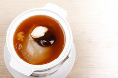 Shark fin foods. Fin soup shark background chinese food Royalty Free Stock Photo