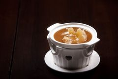 Shark fin foods. Fin soup shark background chinese food Royalty Free Stock Images