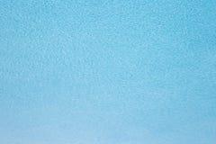 Fin textur för blåttpölvatten Royaltyfri Bild