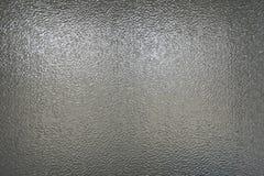 Verre gris texturisé Photographie stock libre de droits
