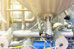 Fin vers le haut de commutateur numérique de contrôle de la pression de haute précision pour la chaudière à vapeur de chauffe-eau photos libres de droits