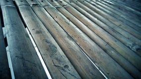 Fin vers le haut de la photo en bambou de planche images libres de droits