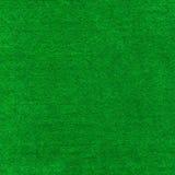 Fin verte d'instruction-macro de tissu de table de carte de tisonnier vers le haut. Image stock