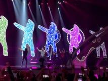 Finał Eurowizyjny 2017 na scenie Międzynarodowy Exhib Zdjęcia Royalty Free