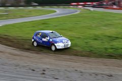 Finał rasa turecczyzny Rallycross mistrzostwo obraz royalty free