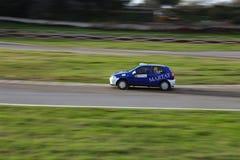 Finał rasa turecczyzny Rallycross mistrzostwo zdjęcie stock