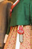 Fina kläder royaltyfria foton