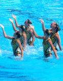 FINA Weltmeisterschaft 2009 Lizenzfreie Stockfotos