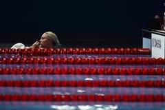15. FINA-WELTmeisterschaften Barcelona 2013 Lizenzfreies Stockfoto