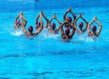 FINA wereldkampioenschap 2009 Stock Foto's