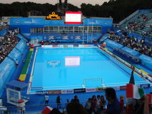 FINA World Championship. WATER POLO at the FINA World Championship - Roma 2009 Stock Images
