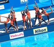FINA world championship 2009 Royalty Free Stock Photos