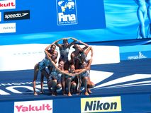 FINA world championship 2009 Stock Image
