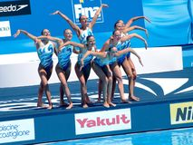 FINA world championship 2009 Royalty Free Stock Photography