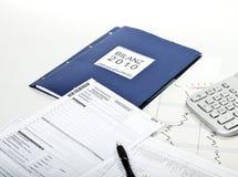 Finacial Anweisung 2010 lizenzfreie stockfotos