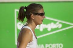 Final aberto de Katerina Vankova o Porto Foto de Stock Royalty Free