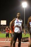 Final alegre 2009 del atletismo del mundo del Mens el 100m de Tyson fotos de archivo