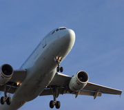 On Final Approach Royalty Free Stock Photo