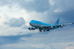 Final approach Stock Photography
