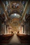 Final barroco Ligure de la basílica S Juan Battista Fotos de archivo libres de regalías