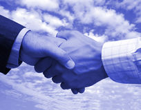 Final business agreement Royalty Free Stock Photography