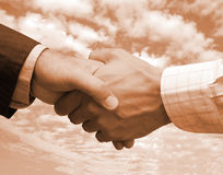 Final business agreement Royalty Free Stock Photos