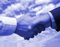 Final business agreement Royalty Free Stock Images