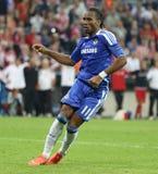 Final Chelsea Training da liga de 2012 campeões Fotos de Stock