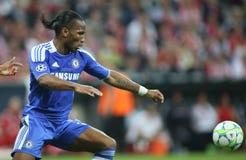 Final Chelsea Training da liga de 2012 campeões Fotografia de Stock